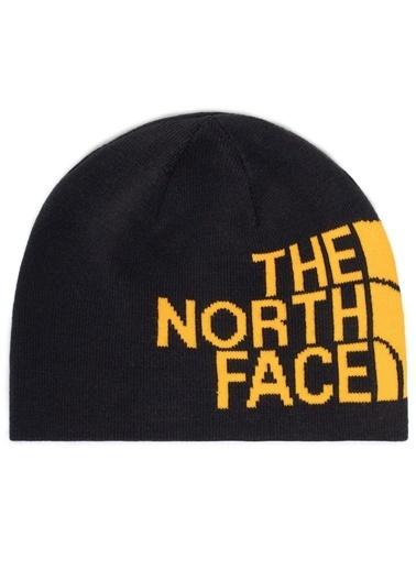The North Face Reversible Banner Bere Siyah/Sarı Renkli